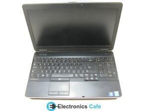 "Dell E6540 15.6"" Laptop 3.00 GHz i7-4610M 4GB RAM Grade C No Caddy, Bad Ethernet"