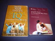 Teaching Co Great Courses DVD  SCIENTIFIC SECRETS RAISING KIDS WHO THRIVE+ bonus