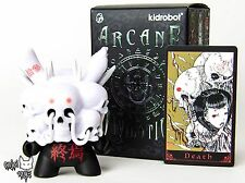 Death(Black & White) by Tokyo Jesus - Kidrobot Arcane Divination Dunny Series