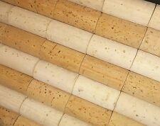 300 wine corks BLANK lighter to darker shades 44mmx24mm
