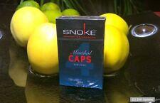 SNOKE Menthol CAPS mit Nikotin 4x für E-Zigaretten = 100 herkömmlichen Zigaret.