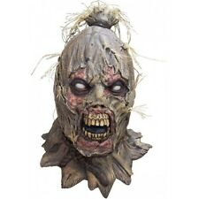 Scarecrow Scareborn Latex Full Head Mask Adult Halloween Fancy Dress Halloween