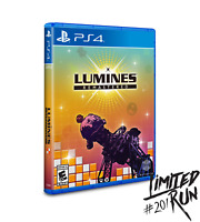 Limited Run #201 Lumines Remastered Exclusive Limited Edition PS4 Game