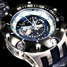 Invicta Reserve Venom Hybrid Swiss Mvt Master Calendar Black 52mm Watch New
