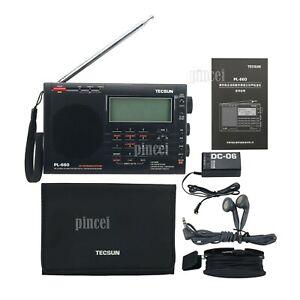 Tecsun PL-660 Radio Digital PLL AM FM SW LW SSB Air Band Radio Receiver