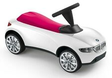 BMW Baby Racer III Weiß Himbeerrot neuste Version 2016  Rutscherauto NEU/OVP