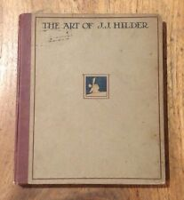 OLD BOOK The Art of J.J.Hilder