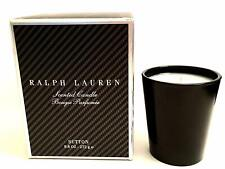FRAGRANT CANDLE RALPH LAUREN SCENTED SUTTON BLACK VESSEL NEW IN BOX 9.6 OZ HOME