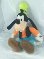 "Authentic Disney 10"" Plush Goofy Disney World Stuffed Dog Soft Rare GUC FS"
