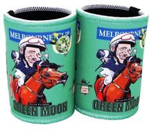 Melbourne Cup - Green Moon Cartiture Stubby holders x 2