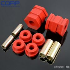 Red For 96-00 Honda Civic EK Polyurethane Front Lower Control Arm Bushing