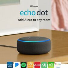 All-new Echo Dot (3rd Gen) - Smart speaker with Alexa - Charcoal free shipping