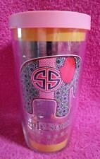 Tervis Tumbler Simply Southern Elephant 16 Oz Cup with Pink Lid