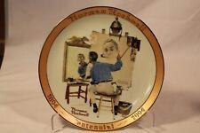 Rockwell Commemorative Stamp PLATE Set 1-5 Portrait, Want, Fear, Speech, Worship