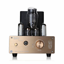 2017 Stereo Vacuum Tube Headphone Amplifier Desktop PC USB DAC HiFi Audio Preamp