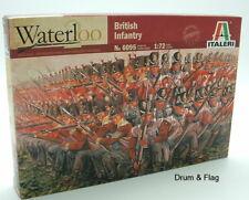 ITALERI 6095 NAPOLEONIC BRITISH INFANTRY 1/72 SCALE 48 UNPAINTED PLASTIC FIGURES