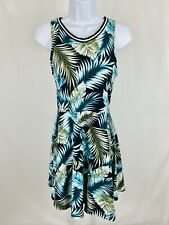 Pink Victoria's Secret Size Small Dress A-Line Sleeveless Green Tropical