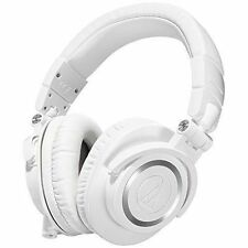 Audio-Technica ATH-M50xWH Professional Monitor Headphones - White