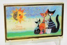 Visitenkartenetui WACHTMEISTER Momenti Katze Cat Etuie für Visitenkarte