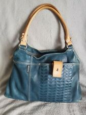 Orla Keily Leather Bag With Petal Design