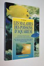 Les maladies des poissons d'Aquarium - M.Millefanti  - Editions De Vecchi