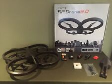 Parrot AR.Drone 2.0 Quadcopter w/ extra battery, GPS unit, tool kit, extra parts