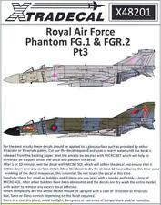 Xtra Decals 1/48 MCDONNELL DOUGLAS FG.1 & FGR.2 PHANTOM II in RAF SERVICE Part 3