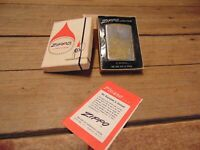 Vintage Zippo Lighter SEMI TRUCK Engraved With Original Case & Instructions!