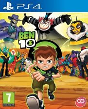 Ben 10 & Free Stickers Inside! PS4 * NEW SEALED PAL *
