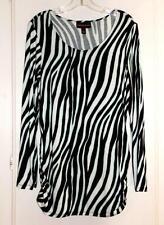c0bd6167ecc65d Dana Buchman Rayon Animal Print Tops   Blouses for Women