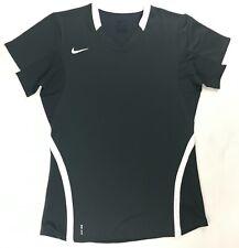 Nike Ace Performance Volleyball Shirt Short Sleeve Women's XL Grey White 615732