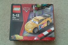Disney Pixar Lego Cars 9481 Jeff Gorvette & Notebook-Bundle