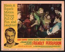 FRIENDLY PERSUASION Lobby Card (Good+) 1961 ReRelease Gary Cooper 15258