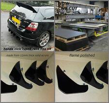 honda civic type r /ep3/honda type s /honda civic ep3/ diffuser/bumper fins/ep1