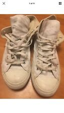 Converse All Star Size 9 Eur42.5 White Mens Used