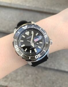 SRPD27J1 Prospex Automatic Diver Day & Date Black Rubber Strap Watch Japan Made