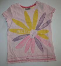 New NEXT UK Pink Sunny You Make Me Smile Tee Top Shirt Size 6 Year or 116 CM NWT
