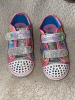 S Sports By Skechers Toddler Shoes Size 8 Multicolors Light Up