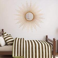 Sunburst Mirror Wall Art Decoration Accent Modern Bathroom Hallway Living Room