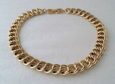Vintage Signed GIVENCHY Double Link Collar Necklace
