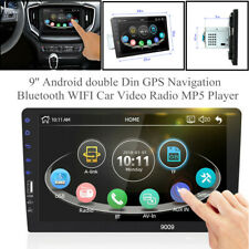 9''Screen Android Double Din MP5 Player Bluetooth USB Universal Car Video Radio