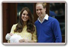 WILLIAM AND KATE, ROYAL BIRTH, PRINCESS CHARLOTTE, FRIDGE MAGNET 02 FREE POSATGE