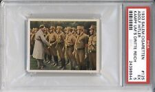 1933 Salem Cigaretten GERMAN CHANCELLOR  #125 PSA 5 EX WW2 Historical Card