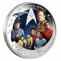 Star Trek U.S.S. Enterprise NCC-1701 Crew 2016 2oz Silver Proof Coin