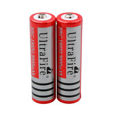 2pc Ultrafire 3000mAh 3.7v Li-ion 18650 Rechargeable Battery Batteries USA STOCK