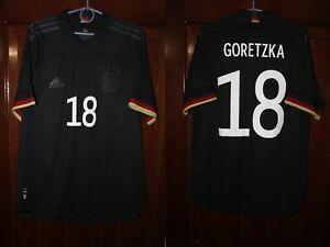 Germany Deutschland 2020 2021 Goretzka Away Player Issue Adidas shirt jersey