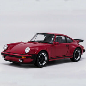 1:24 Classic Porsche 911 Turbo 3.0 1974 Model Car Diecast Collection Red Gift