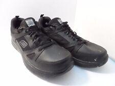 Skechers Men's Work Relaxed Fit Work Shoe Black Size 10.5 M