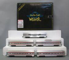 Weaver 2540 Santa Fe 5-Car Aluminum Passenger Set EX/Box