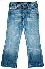 7 For All Mankind Blue Denim Jeans Size 26